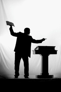 preacher-black-and-white-silhouette