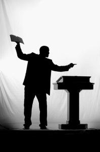 preacher-black-and-white-silhouette