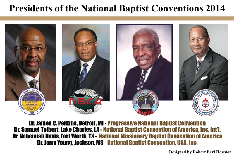 Congratulations to the new National Baptist Conventions